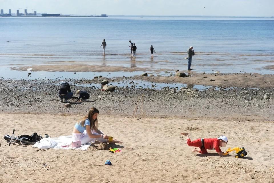 В Петербурге можно купаться лишь на 15 пляжах в Кронштадтском и Курортном районах.