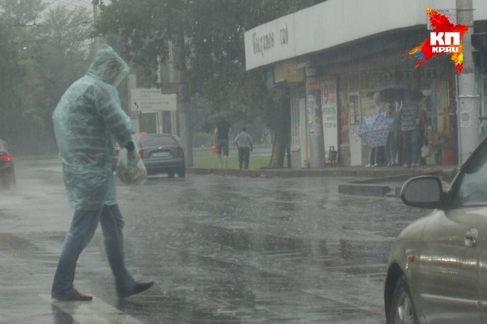 Дождь прогнозируют на всей территории республики.