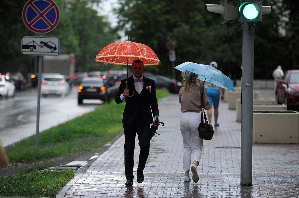 Местами в регионе ожидаются дожди
