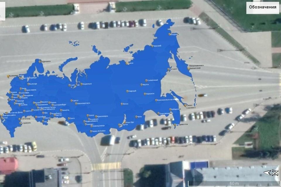 Участники получат персональные географические координаты и таким образом смогут занять свое место в «живой» мозаике