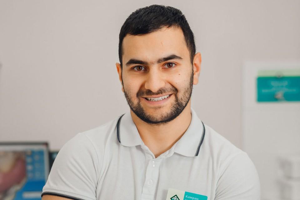 Камран Азизов - стоматолог-хирург, стоматолог-имплантолог клиники ЭДЕНТАЛЬ.