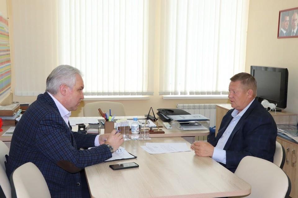 Николай Панков встретился с Алексеем Антоновым