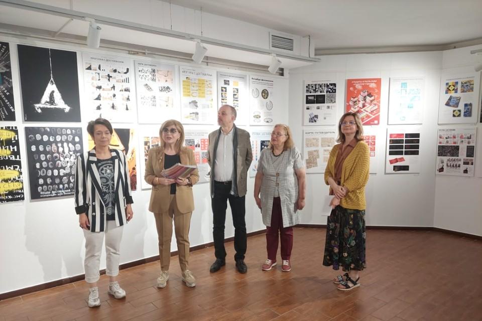Выставка, посвященная 200-летнему юбилею Фёдора Достоевского, открылась в Петербурге. Фото: пресс-служба СПбГУПТД.