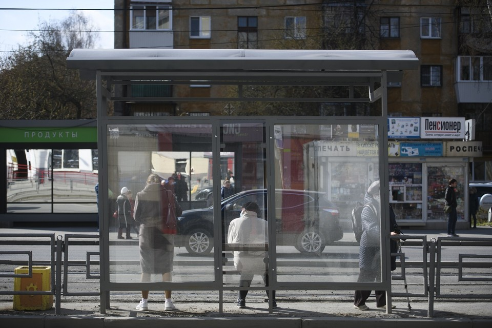 До ноября в городе установят еще 28 «умных остановок»