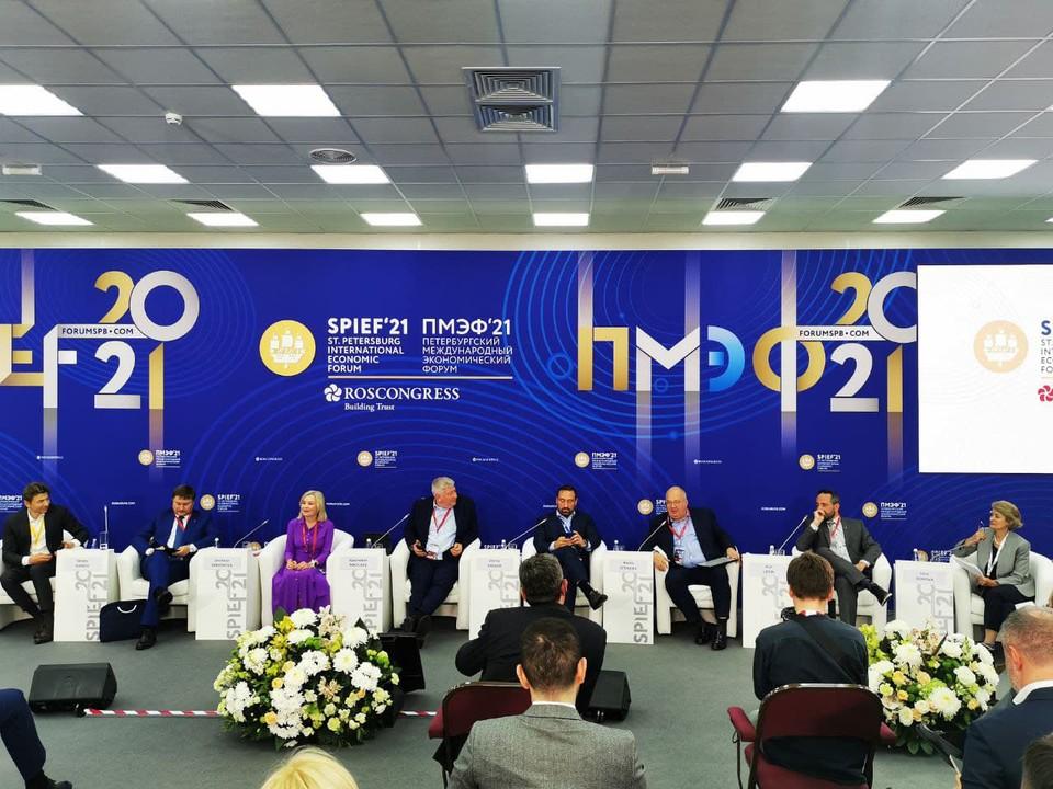 В дискуссии также участвовали представители крупных международных компаний, научных центров, министерств и ведомств