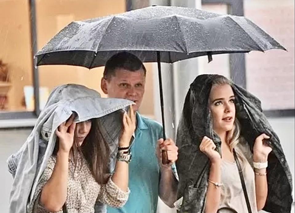 Дожди и грозы будут в Твери на этой неделе.