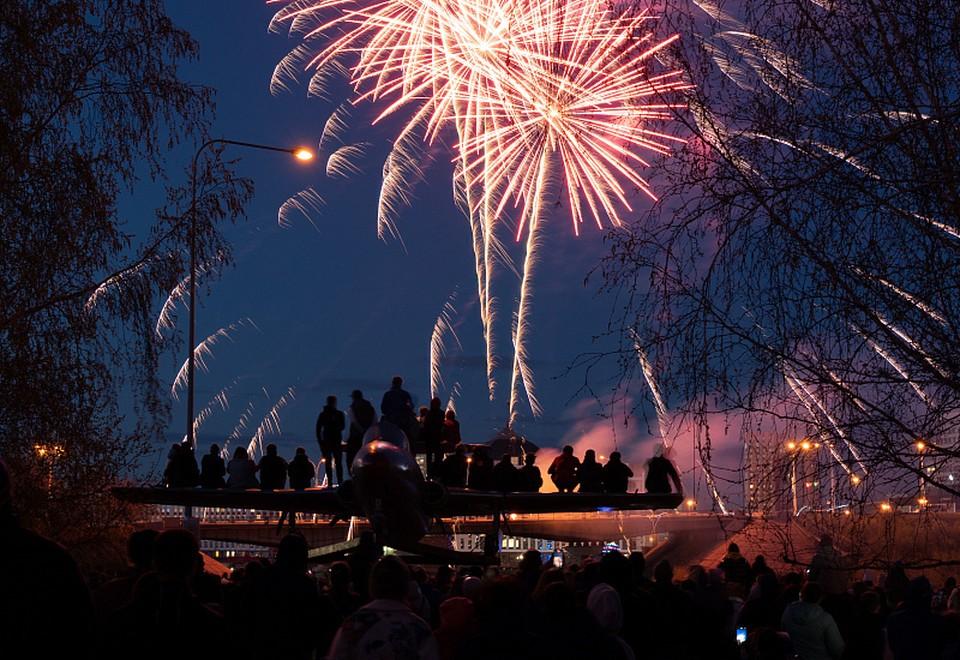 В Кемерове прогремит восьмиминутный салют в День города. Фото: Администрация города Кемерово.