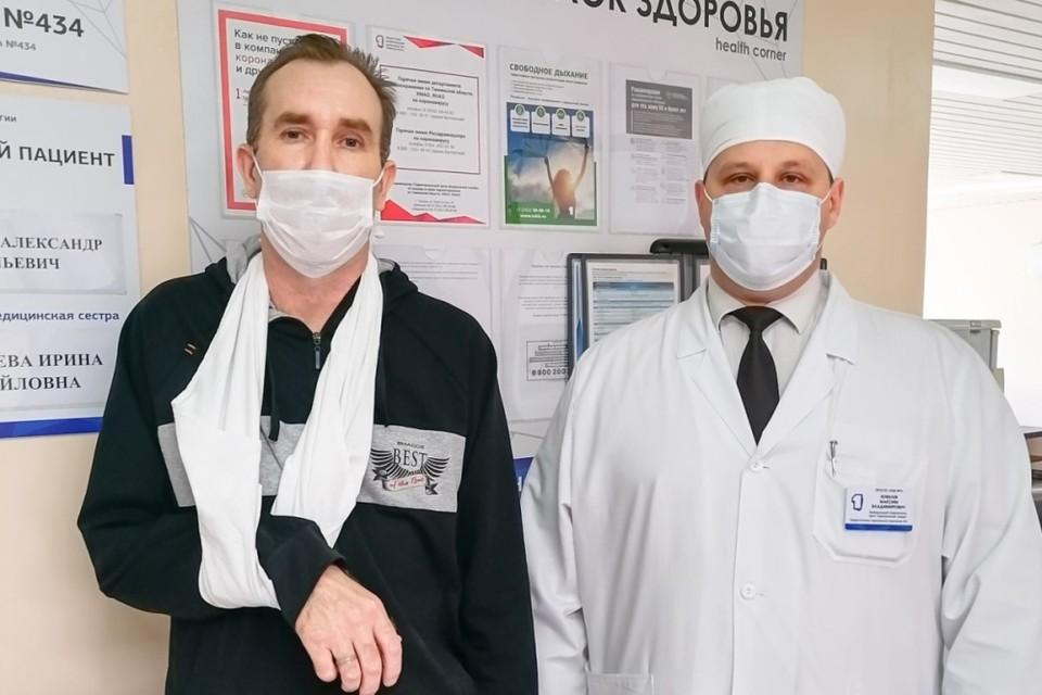 В Тюмени медицинского туриста из Казахстана избавили от дренажа в груди.