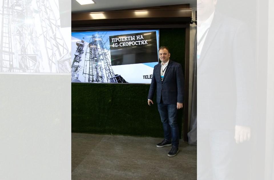 Директор пермского филиала Tele2 Антон Антонов. Фото предоставлено Tele2