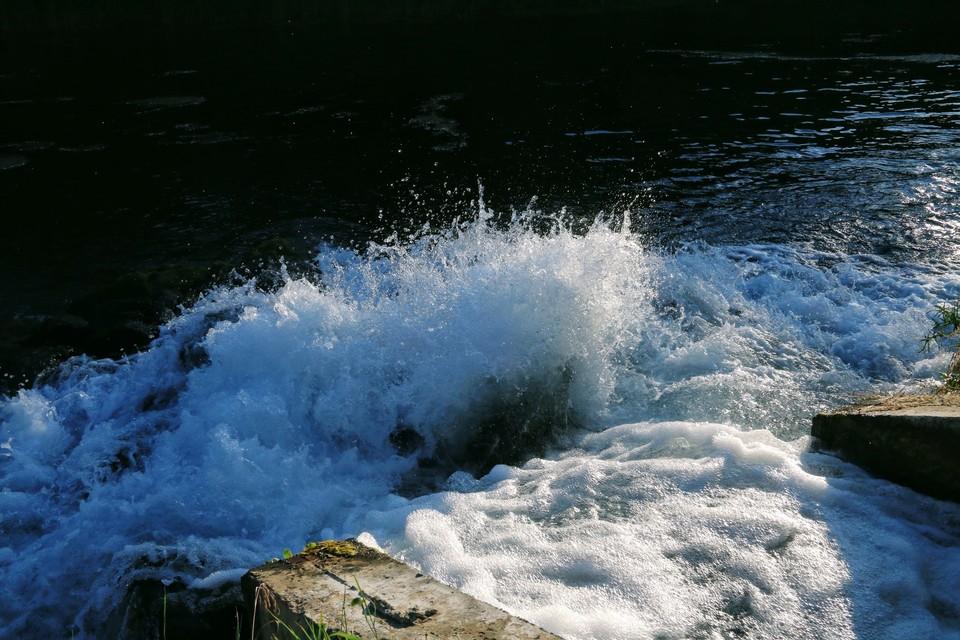 """Вода, затопившая часть трассы """"Таврида"""", ушла естественным путем."""