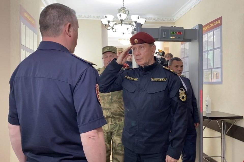 По мнению Золотова, здание рязанского управления - лучшее в стране.