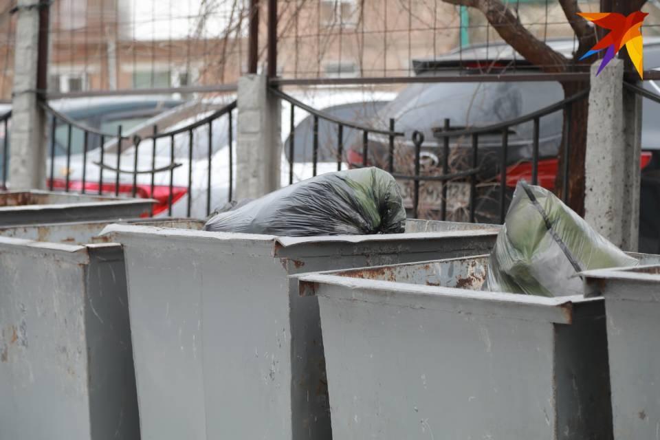 Житель Пензенской области решил, что может незаметно украсть мусорные баки в Зеленоборском.