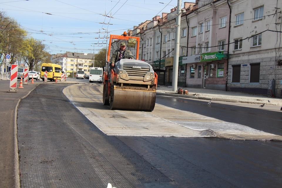 Одновременно несколько важных улиц будут капитально ремонтироваться.