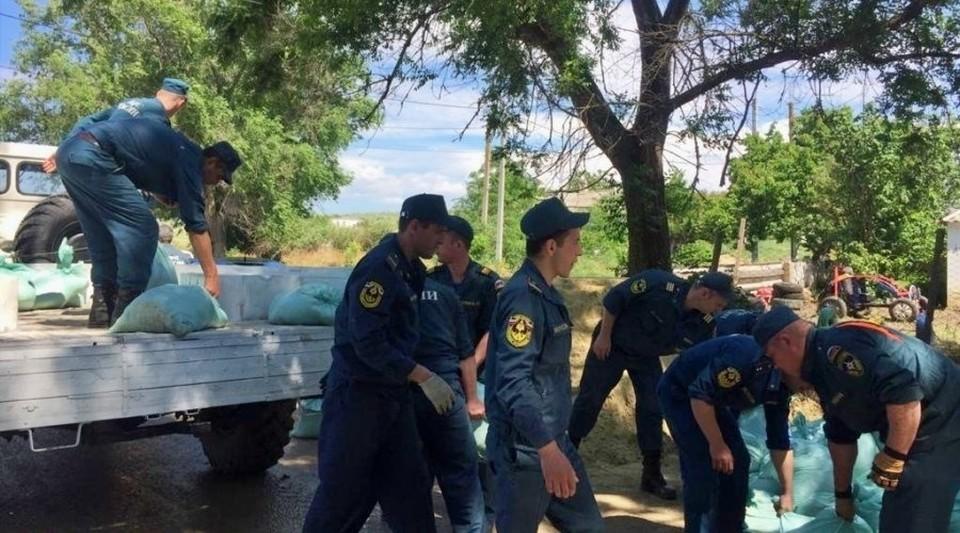 Сообщений о пострадавших или погибших в МЧС не поступало. Фото: ГУ МЧС по Крыму.