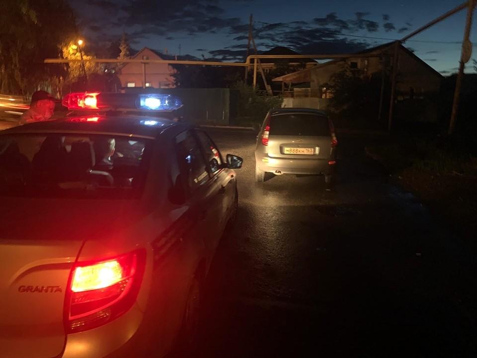 """Пьяного сотрудника МВД настигли через пару перекрестков Фото: """"Ночной патруль"""""""