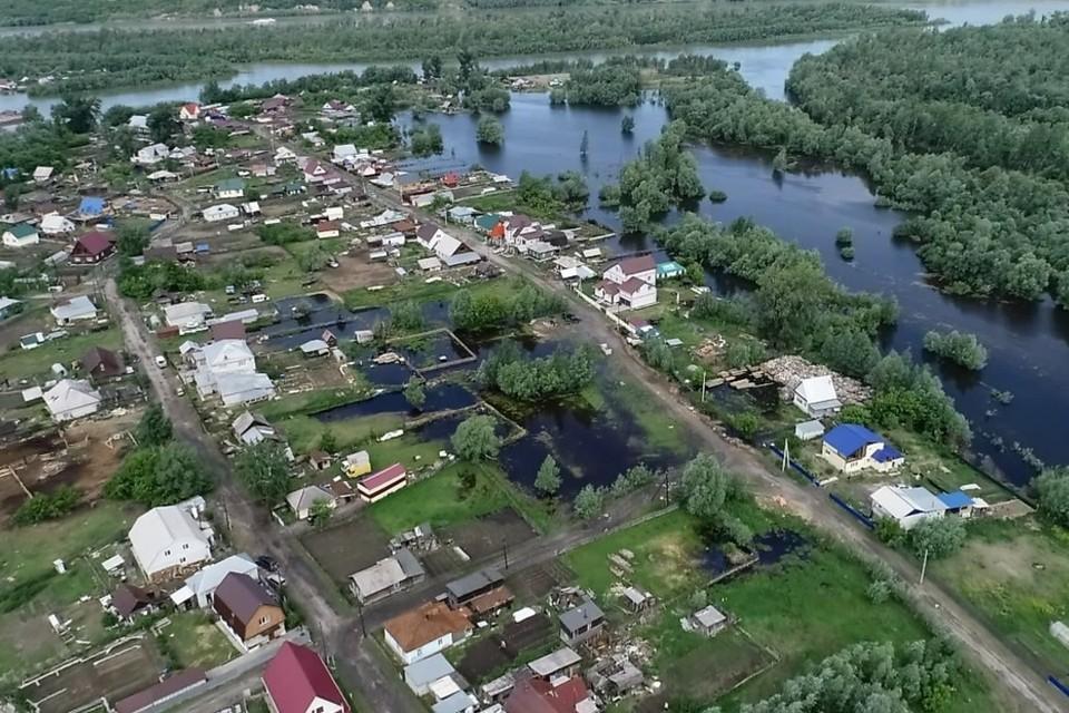 Спасатели предупреждают, что в будущем возможен рост и в районе Барнаула.