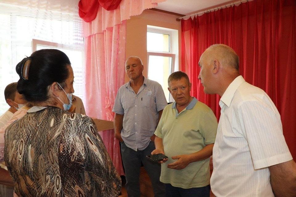 Николай Панков встретился с жителями трех районов Саратовской области