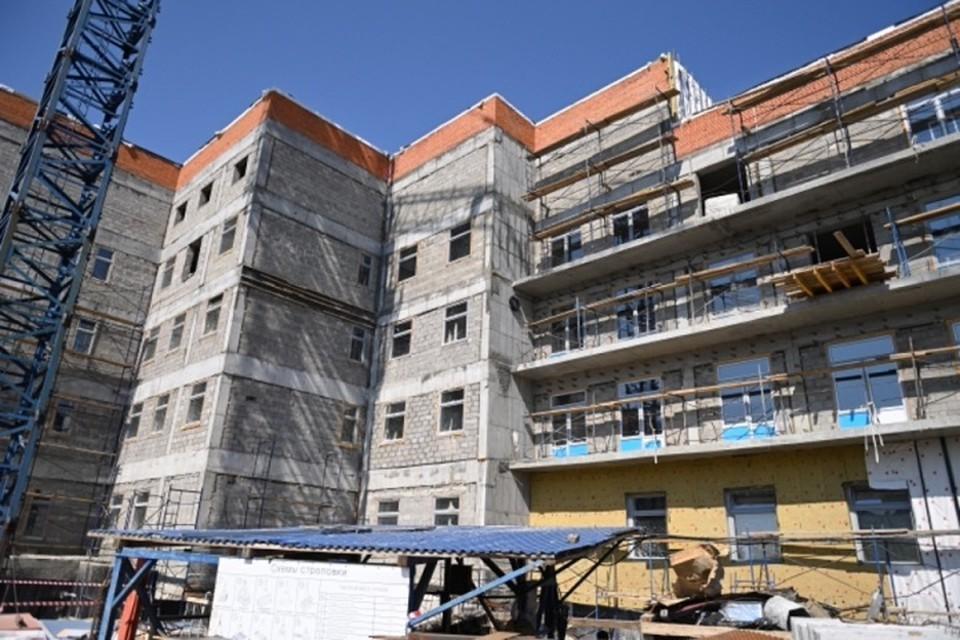 Новая детская поликлиника откроется уже в середине 2022 года в Хабаровске