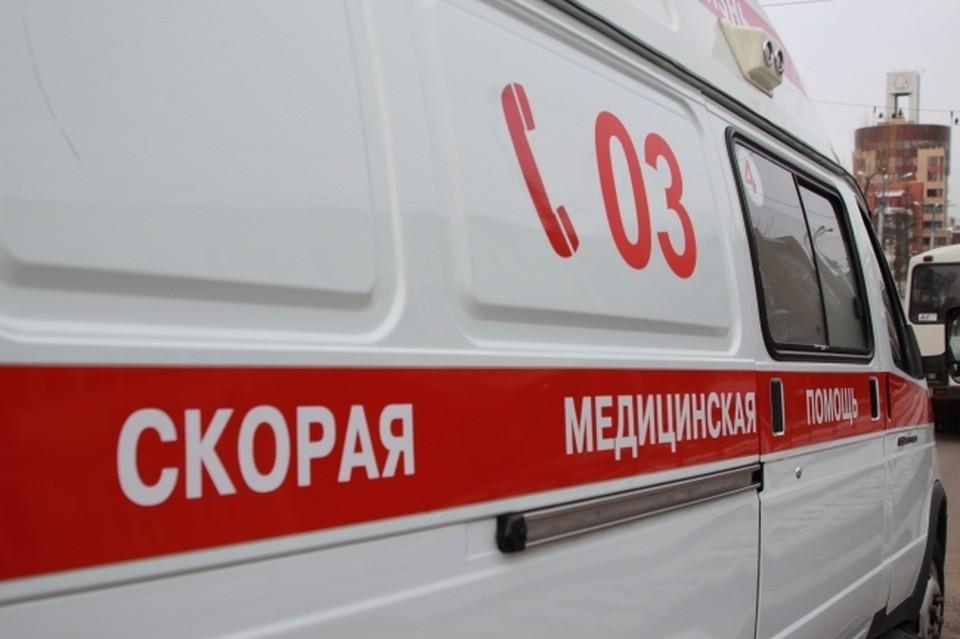 В больницу увезли водителя и пассажира.