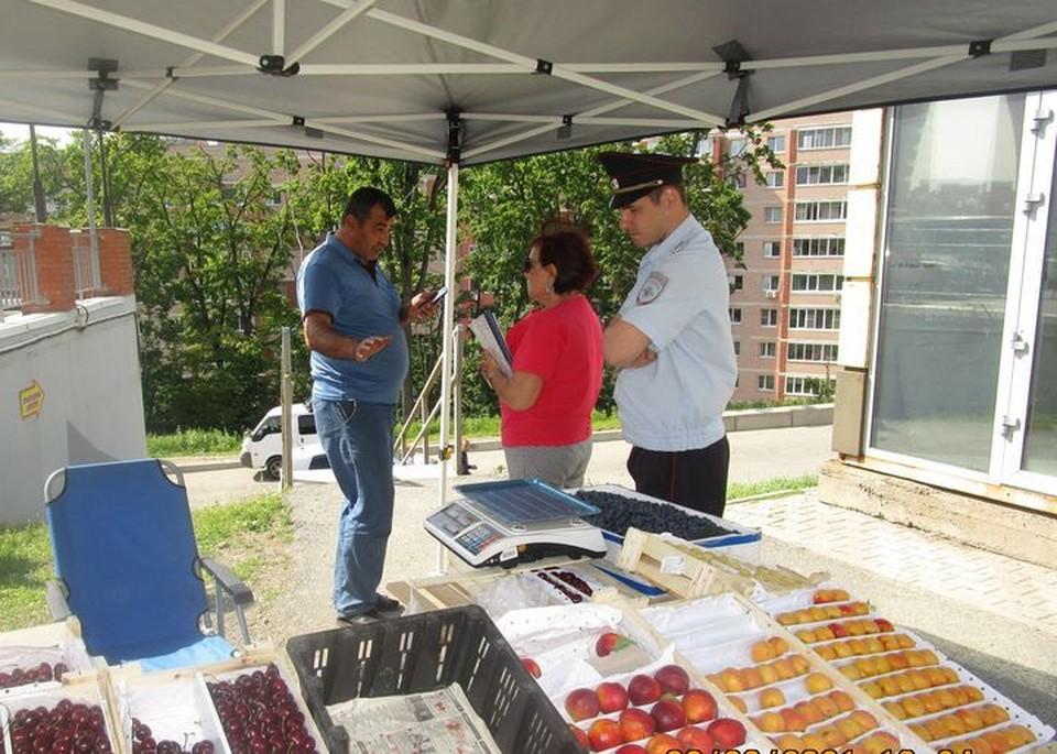 Во Владивостоке борются с уличной торговлей.