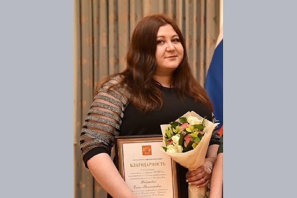 Елена Золотова спасла нескольких пациентов.
