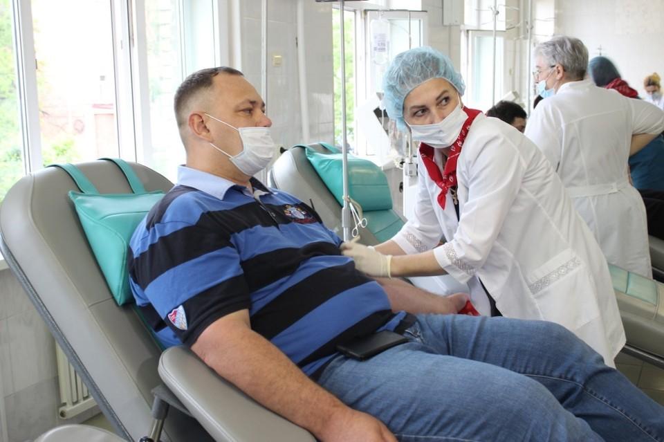 Алексей Козицкий: донорство – это самый простой способ помочь человеку, попавшему в беду. Фото: Екатерина Тихая.