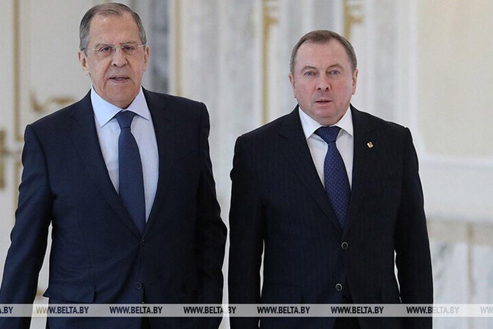 Макей посетит Москву 17-18 июня с рабочим визитом и проведет переговоры с Лавровым. Фото: БелТА