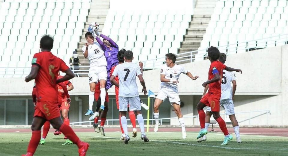Национальная сборная одержала безоговорочную победу (Фото: kfu.kg).