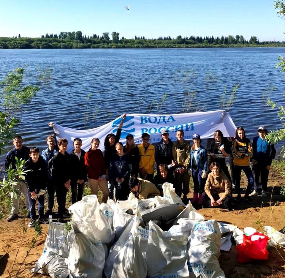 В Томске продолжаются мероприятия по сбору коммунальных отходов
