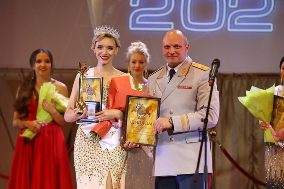 Татьяна Грицаенко стала победительницей всероссийского конкурса «Мисс УИС — 2021». Фото УФСИН