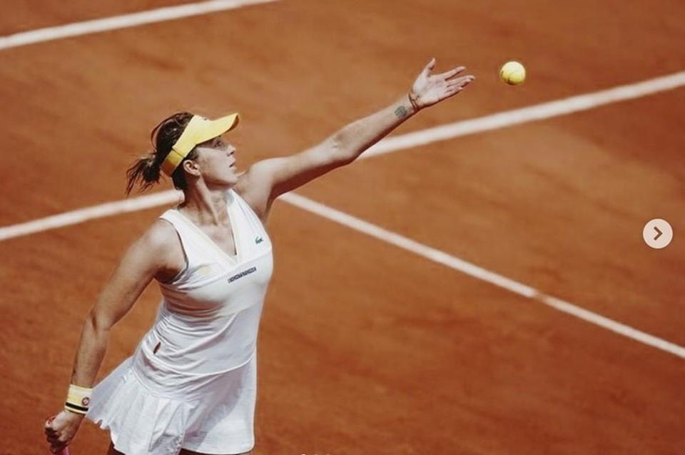 Павлюченкова улучшила свои позиции в мировом рейтинге. Фото: инстаграм теннисистки