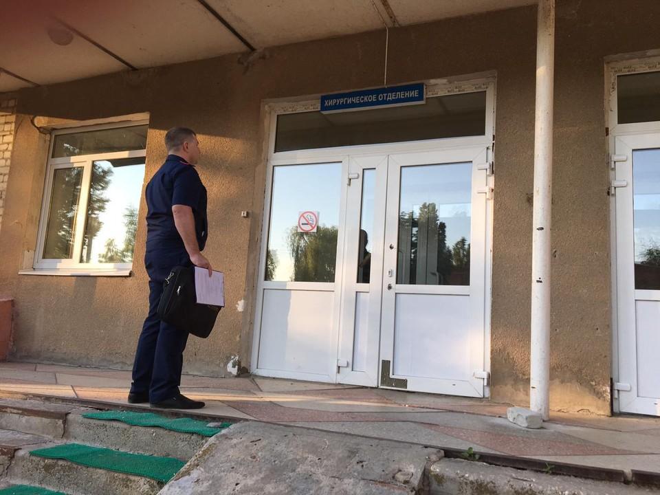 Следователи СК и полиции устанавливают обстоятельства смерти жителя Маркса
