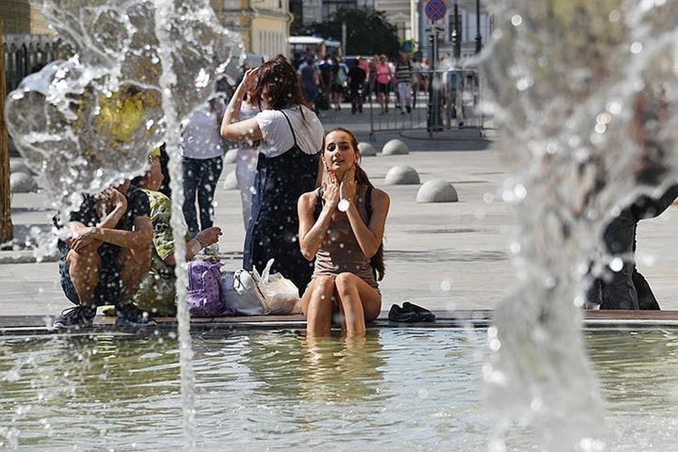 Синоптики прогнозируют до +33 °С в Москве на следующей неделе