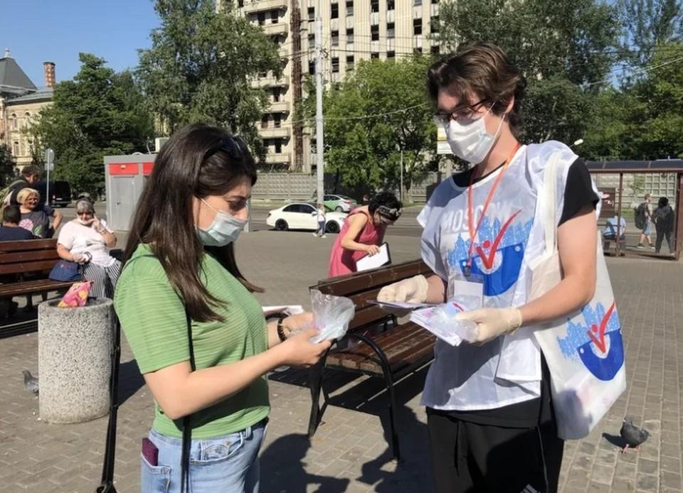 Светлана Разворотнева открыла в помощь москвичам и вакцинации «Точки добра»