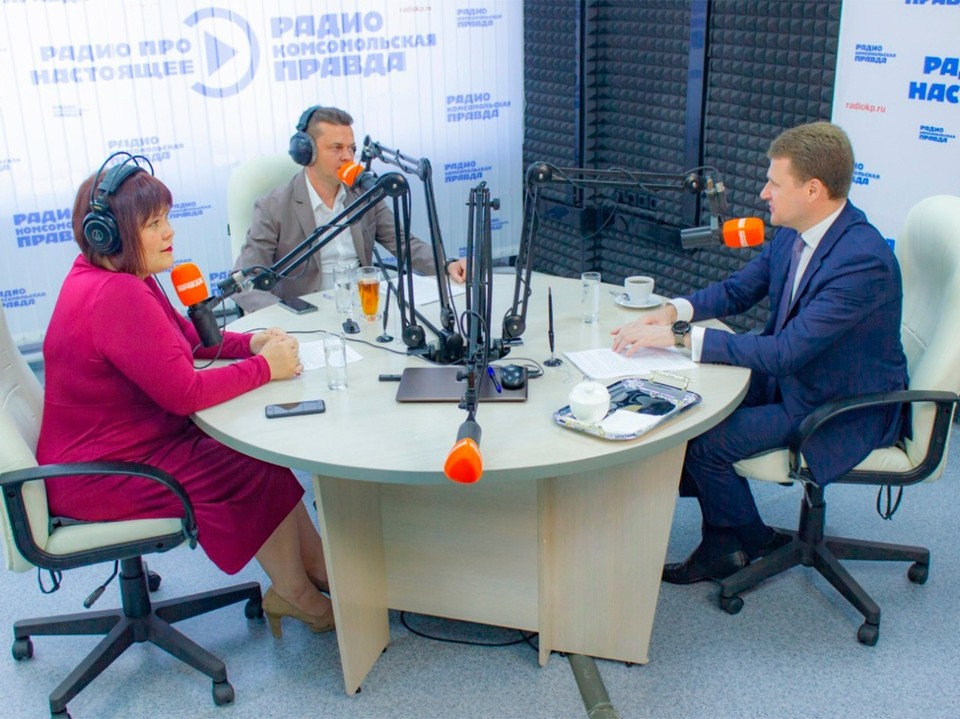 """Алексей Чекунков в прямом эфире радио """"КП"""""""