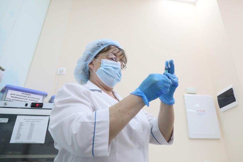 В Красноярске открылись еще два внебольничных пункта вакцинации