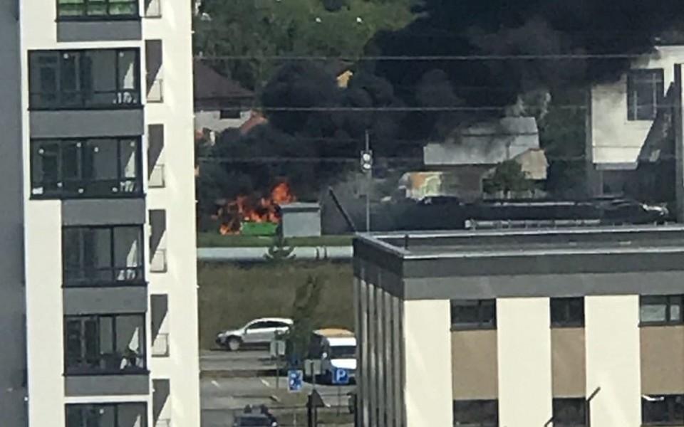 Прокуратура проверит, из-за чего сгорел автобус № 39 на ул. Заколужской в Тюмени