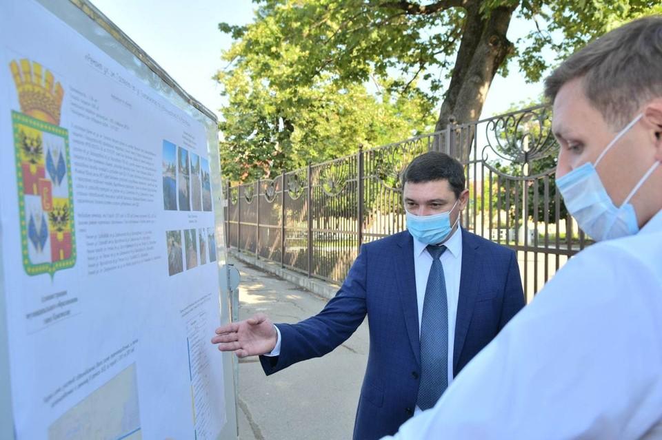 Мэр Краснодара проконтролировал ход работ