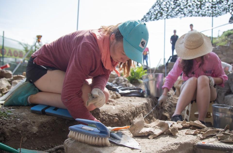 Археология помогает изучать прошлое человечества по вещественным источникам. Фото: пресс-служба Мининформа РК.