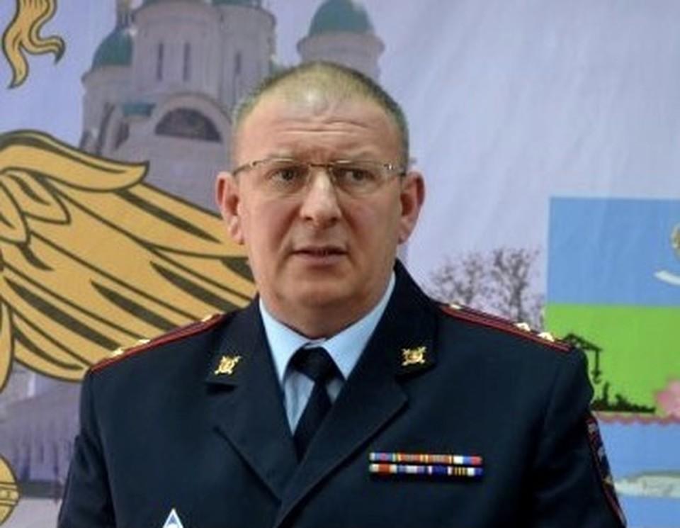 Новый начальник транспортной полиции Андрей Зайцев