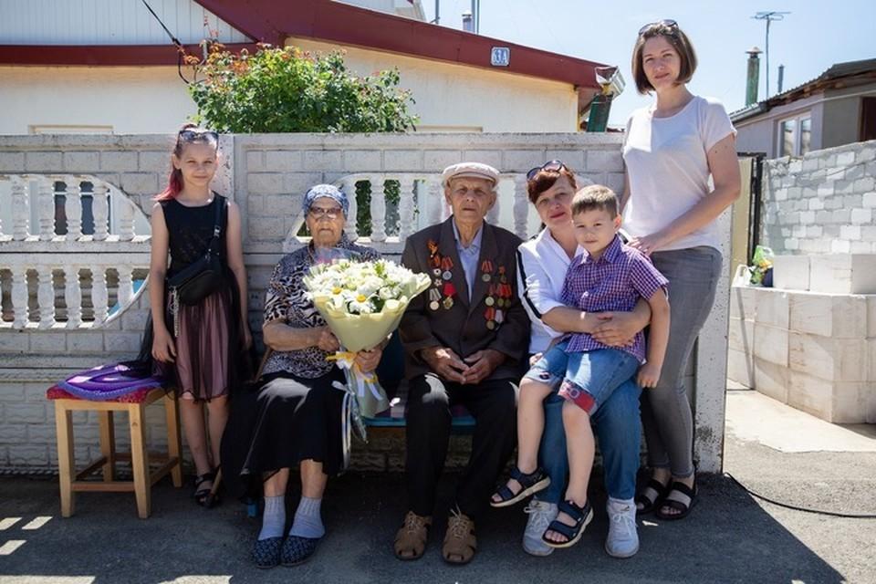 Семья Клименко. Фото: администрация Ставрополя