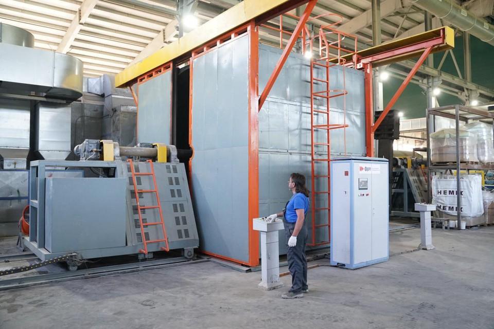 Новое производство запущено на заводе в Редкино
