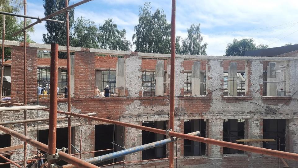В Самаре продолжается реставрация здания Фабрики-кухни