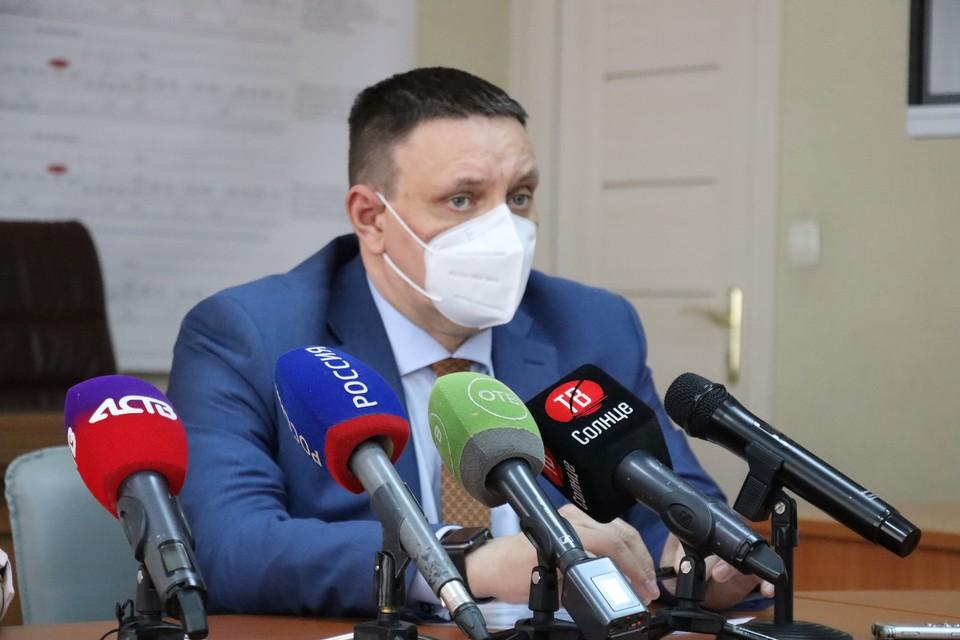 Владимир Кузнецов на брифинге 9 июля