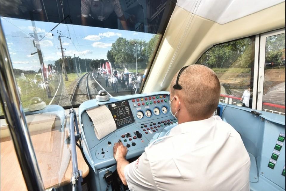 В Новосибирске запустили первую станцию проекта «Городская электричка». Фото: предоставлено правительством НСО.