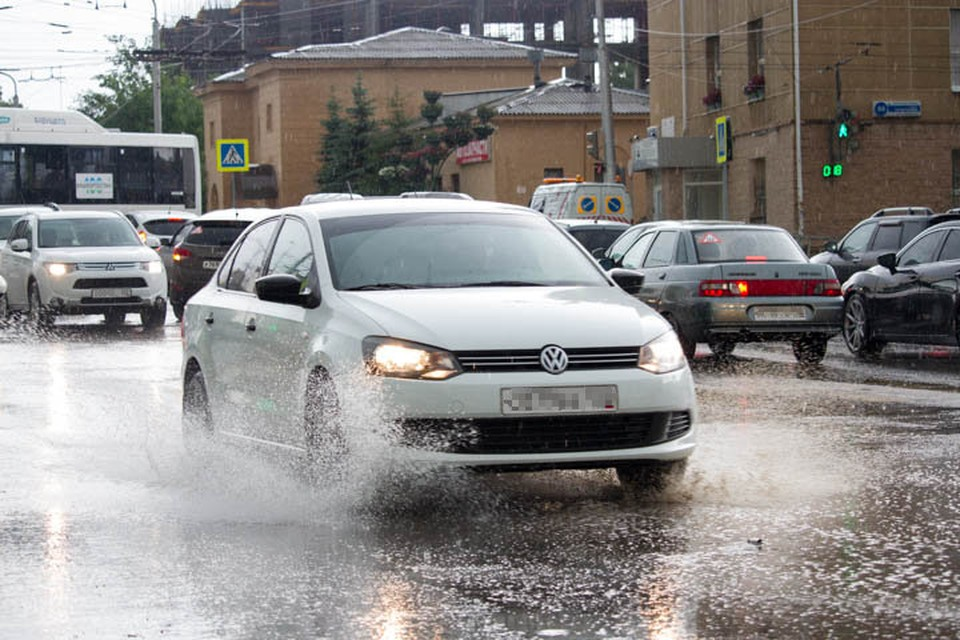 Град и ливень в Башкирии прогнозируется в воскресенье