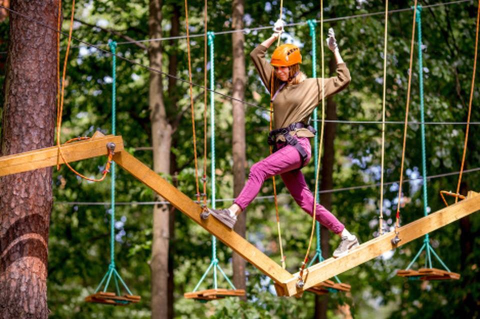 В Ханты-Мансийске появится веревочный парк «Каснэ Маа» Фото: Городской информационный центр