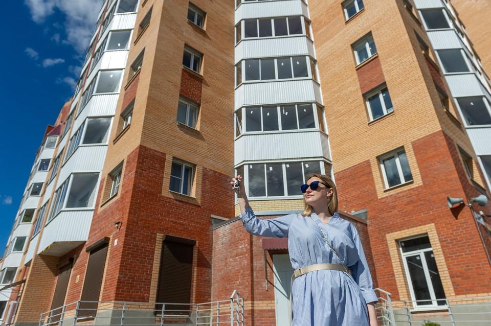 Дольщики ЖК «Три апельсина» получат ключи от квартир в конце лета