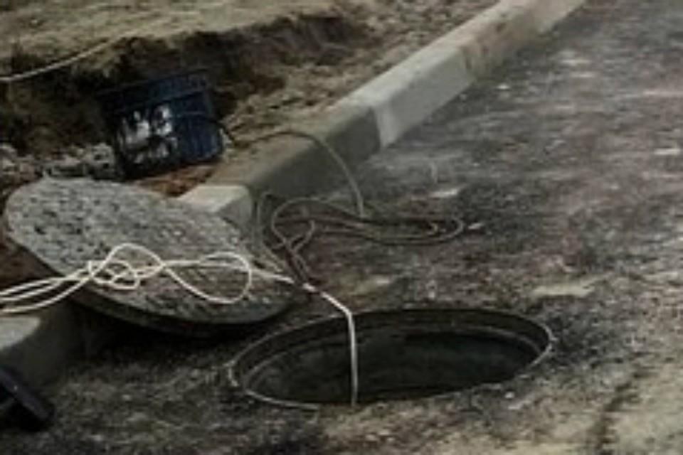 В центре Ростова ремонтируют водопровод