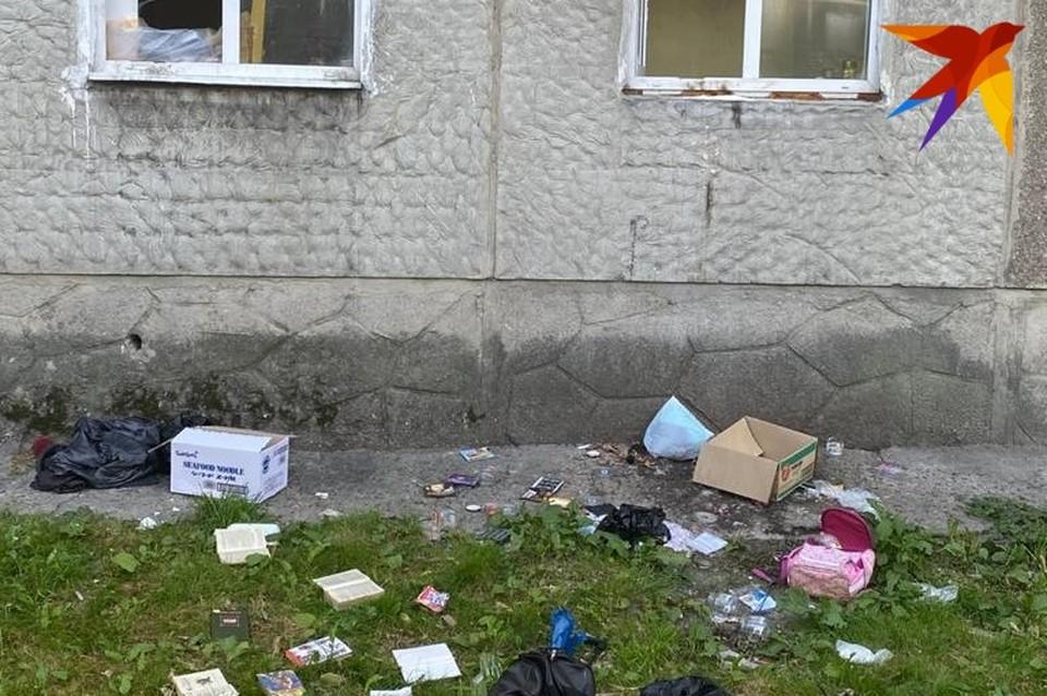 По словам жильцов, соседка не первый раз закатывает истерику